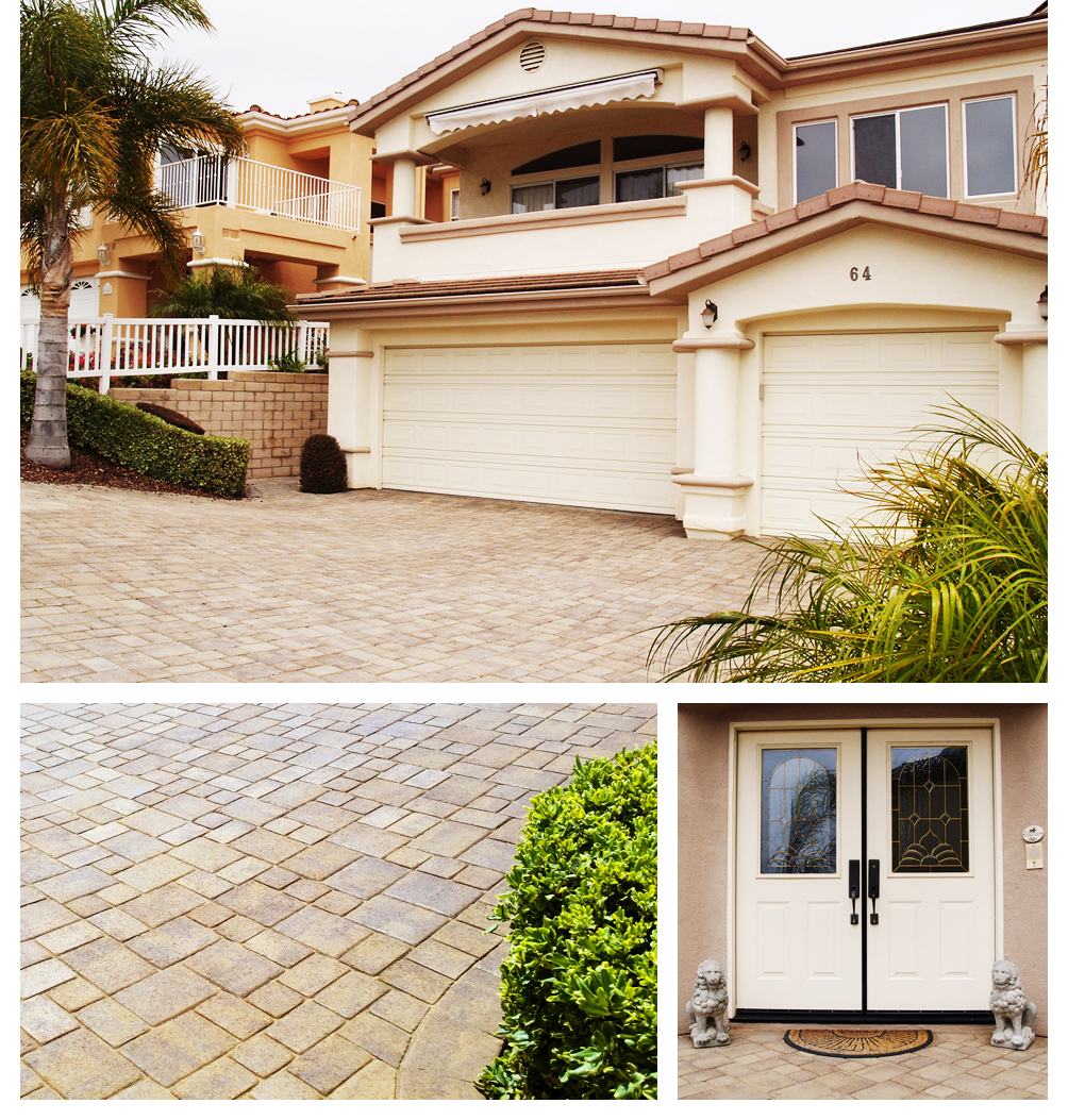 Paver Driveway Landscaping, Pismo Beach 93449