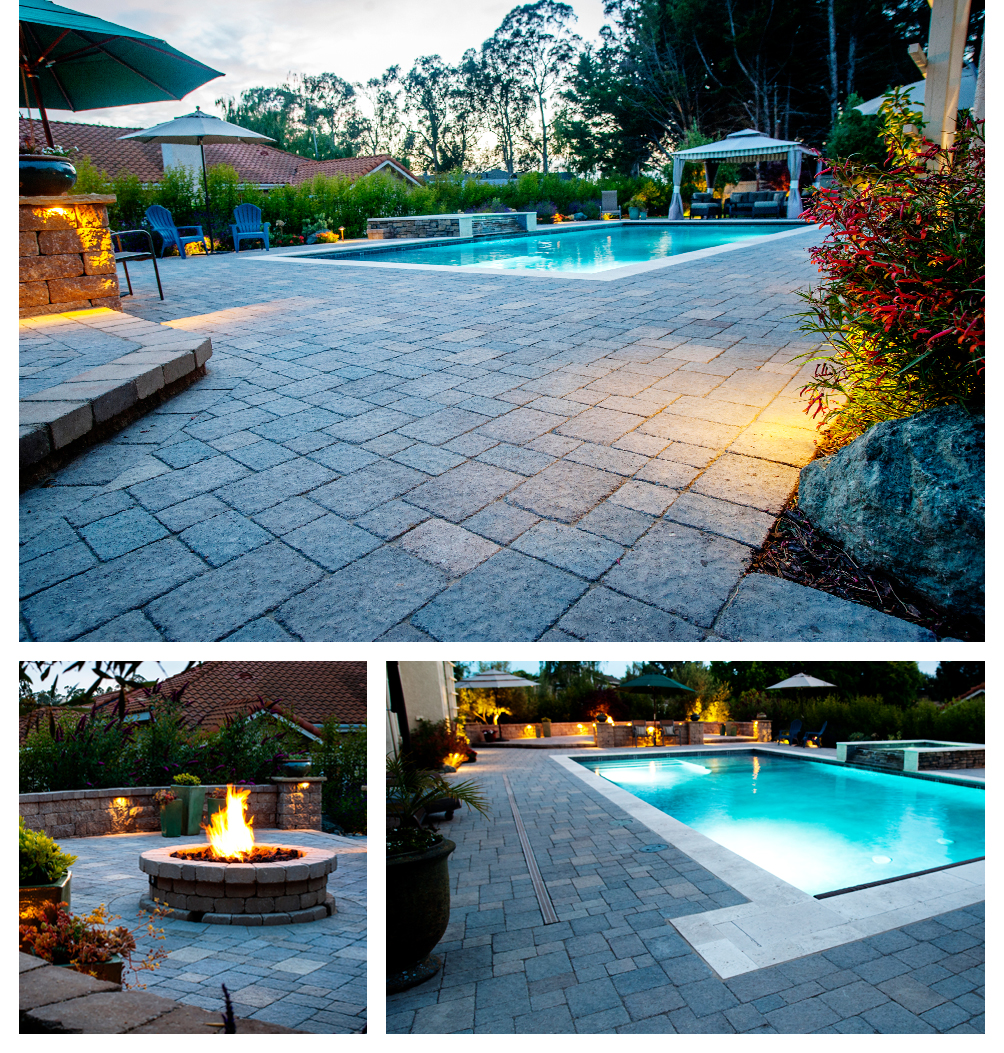 Paver Driveway Landscaping, Orcutt